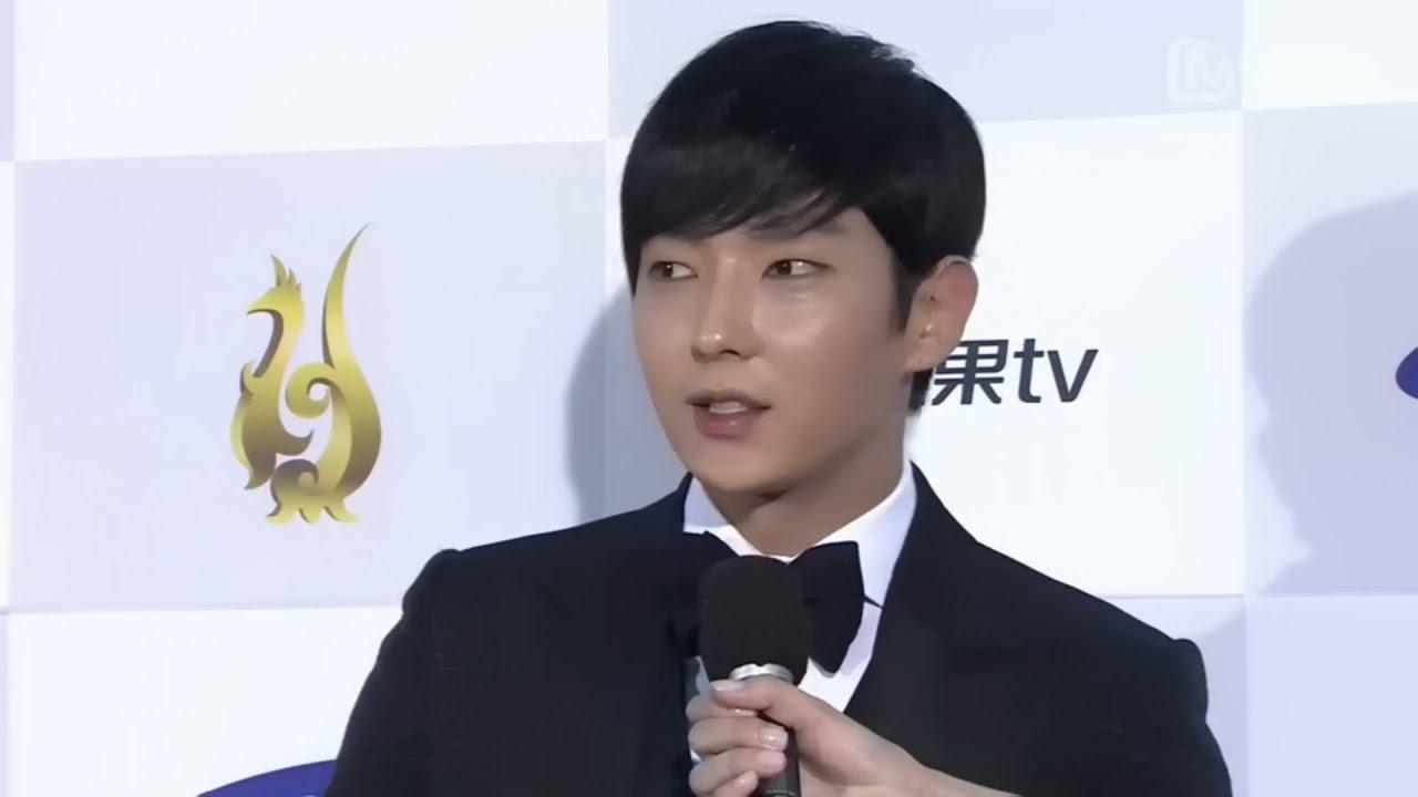 【2015 SDA】韓流電視劇優秀作品《朝鮮神槍手》優秀男演技獎 - 李準基Lee Joon Gi - YouTube