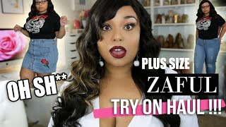IS CHINA STEPPING UP THEIR FASHION GAME !? PLUS SIZE ZAFUL FULL TRY ON HAUL