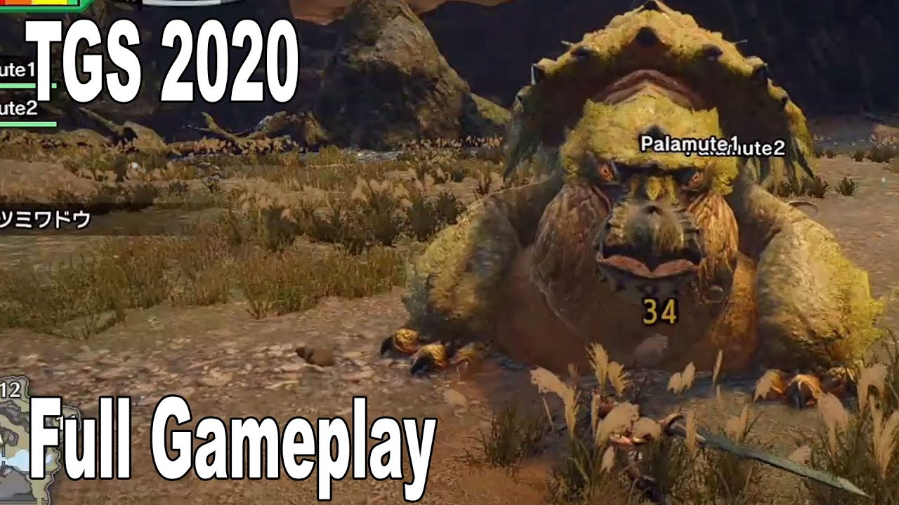 Monster Hunter Rise - Full Gameplay Demo TGS 2020 [HD 1080P]
