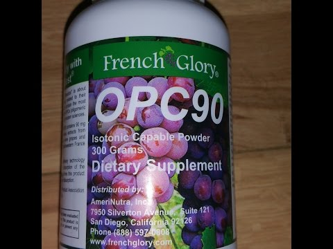 OPC90 Dietary Supplement/ Giveaway