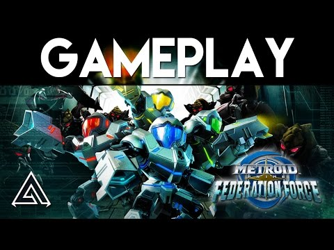 Metroid Prime Federation Force Gameplay & Impressions
