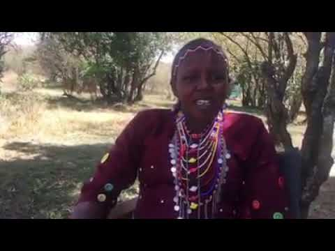 Meet Lucy first Maasai female Guide(Masai Mara)
