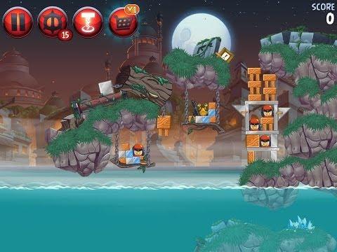 Angry Birds Star Wars 2 Level P3-3 Battle of Naboo 3 star Walkthrough