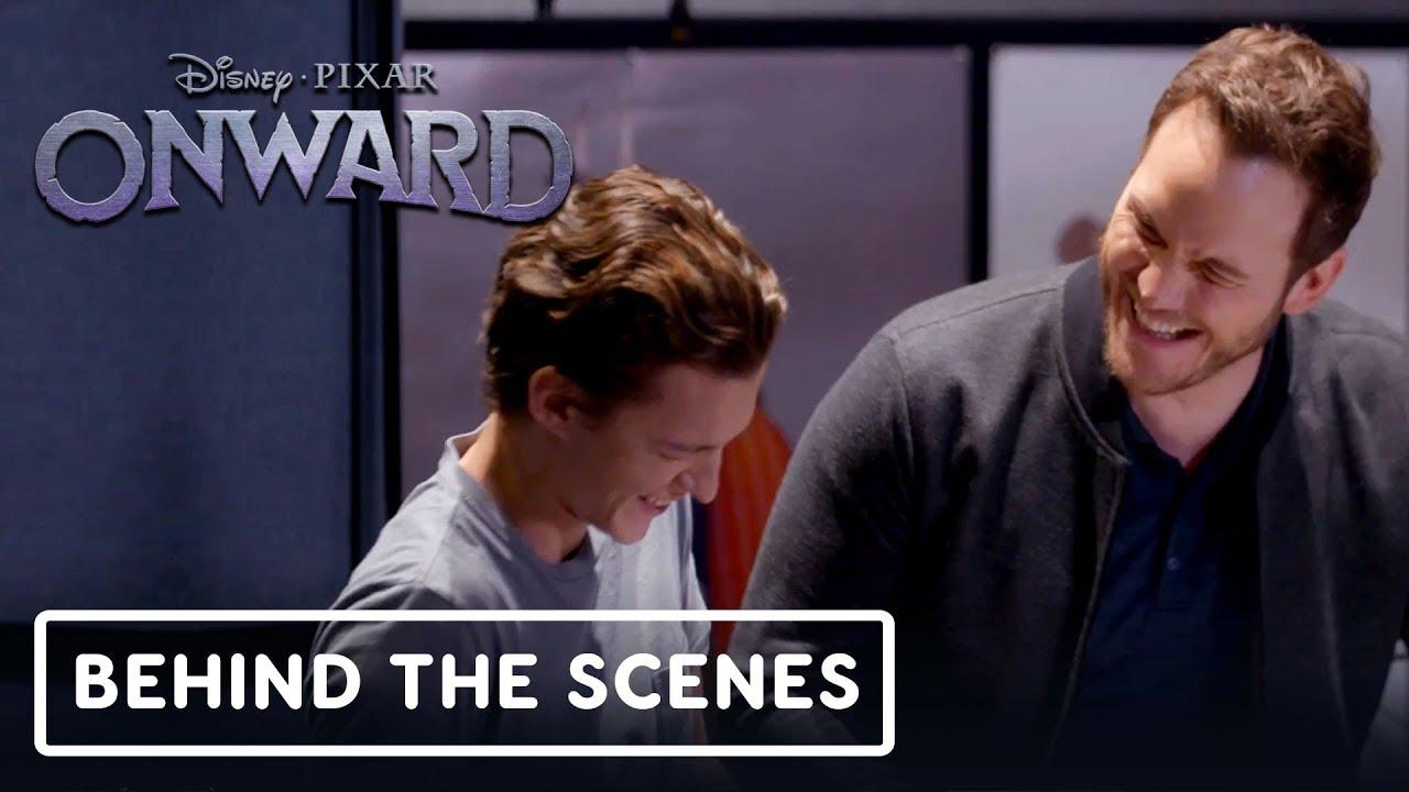 Pixar's Onward: Clip exclusivo detrás de escena (Tom Holland y Chris Pratt) + vídeo