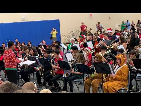 Innovation middle school jazz band: jingle all the way
