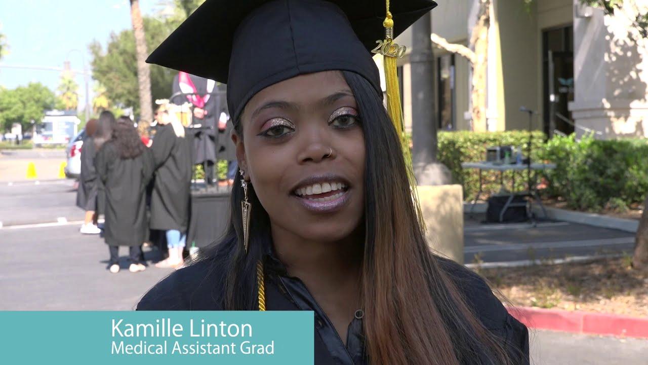 UEI College in Ontario Hosts Drive-Through Graduation