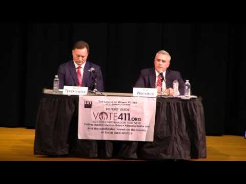 LWV Candidate Forum - Violence Against Women Act