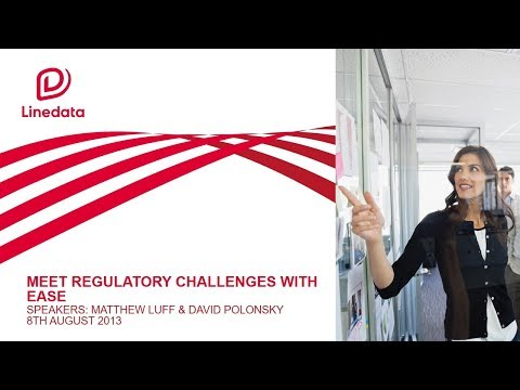 Linedata Compliance Managed Service: Solving Regulatory Challenges Webinar