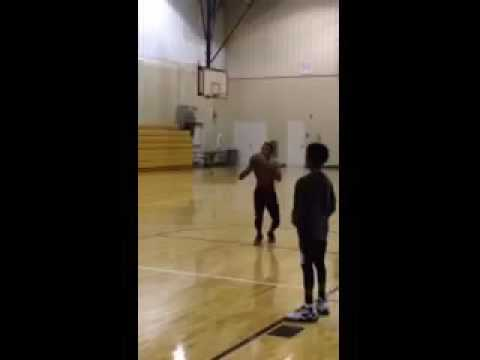 Gotta Get Those Free Throws In ? Johnsonville Middle School Basketball Player In The 8th Grade