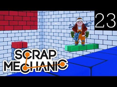 Scrap Mechanic [#23] Mapa Co-Op by TheAssiShow (Mapa Widza)