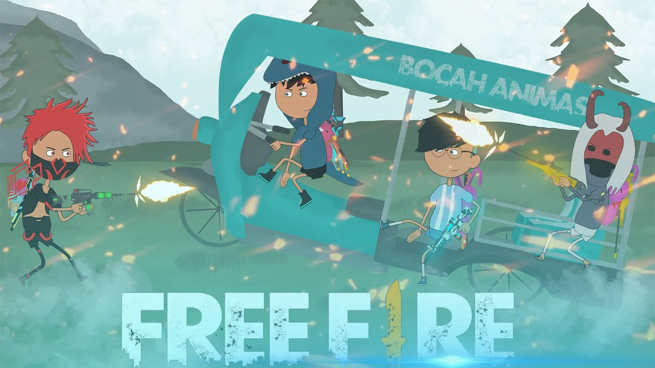 free fire animation - ratakan satu server purgatory bersama @BUDI01 GAMING dan @efdewe - kartun ff
