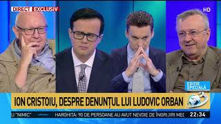 Ion Cristoiu, despre denunțul lui Ludovic Orban