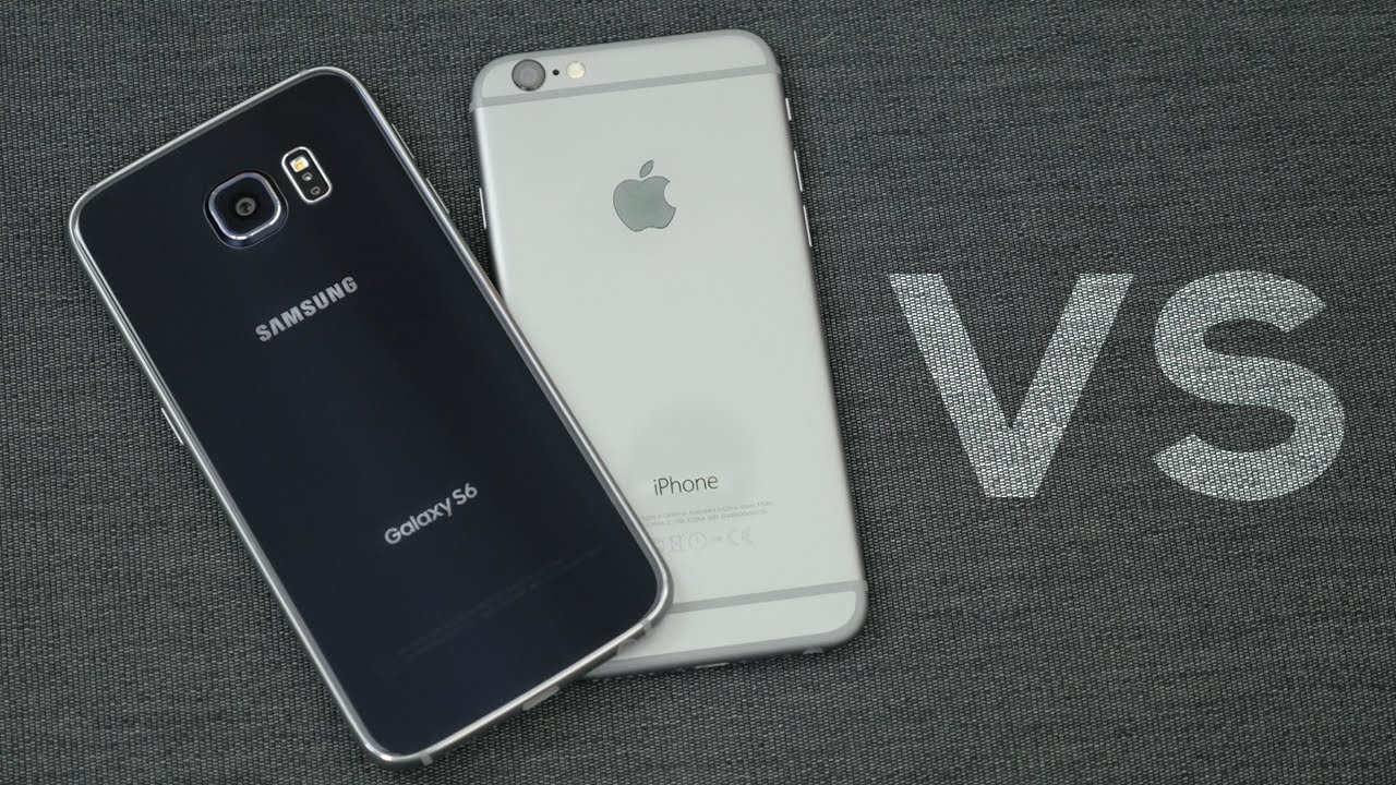 Apple iPhone 6 and Samsung Galaxy S6 - Comparison