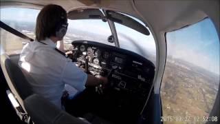Flying Bathurst to Bankstown via Katoomba - Piper Warrior VH-SFM