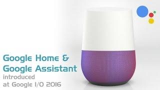 Google Home @ Google I/O 2016