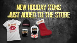 DEF LEPPARD - 2016 Black Friday & Cyber Monday Webstore Sale