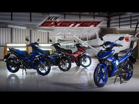 Tin nhanh 24/7 - Yamaha Exciter 150 2019 chính thức ra mắt tại Thailand với 4 phiên bả.