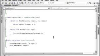 Урок 100 C# Обобщенные интерфейсы, классы