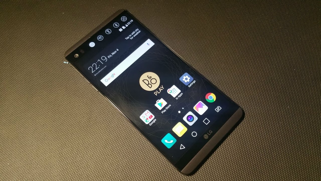 LG V20 International Dual SIM H990DS UK Unboxing and Initial Impressions  plus message to LG