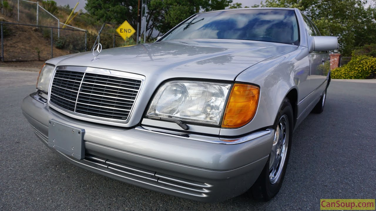 1995 mercedes benz w140 s420 exterior walkaround video for Mercedes benz s420 for sale