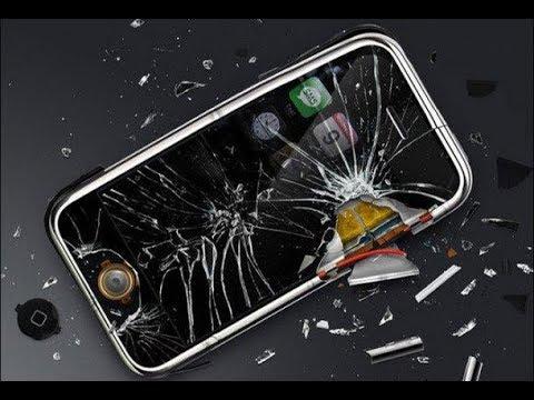 ★ У меня сдали нервы и я разбил мобильный телефон начальника