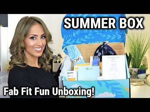 Fab Fit Fun Summer Box Unboxing & Review