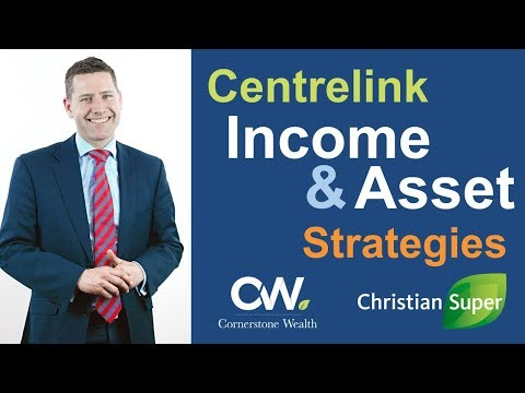 Centrelink Income and Asset Strategies webinar