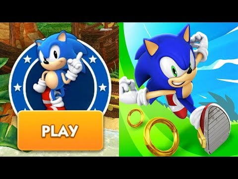 Sonic Dash - CLASSIC SONIC Android Gameplay Ep 32