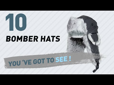 Bomber Hats, Top 10 Collection // Hats & Caps, UK 2017