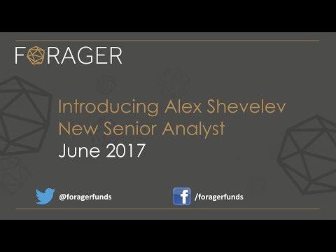 Introducing Alex Shevelev, New Senior Analyst