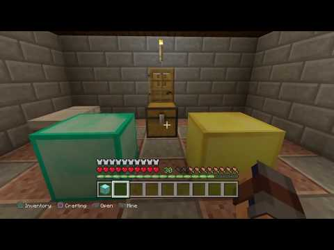 Minecraft Duplication Glitch! EASY DIAMONDS!! DUPLICATE ANY RESOURCE ITEM! PS4/ Console Edition