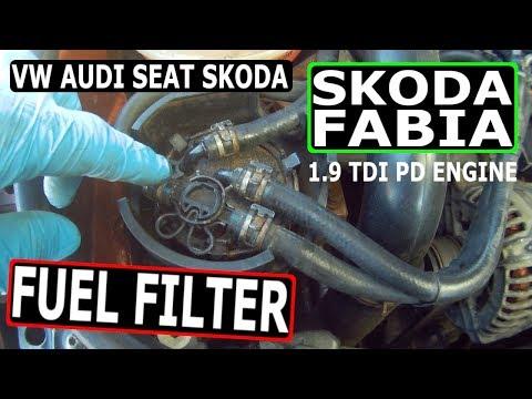 Skoda Fabia 1.9 PD FUEL FILTER (99-07)