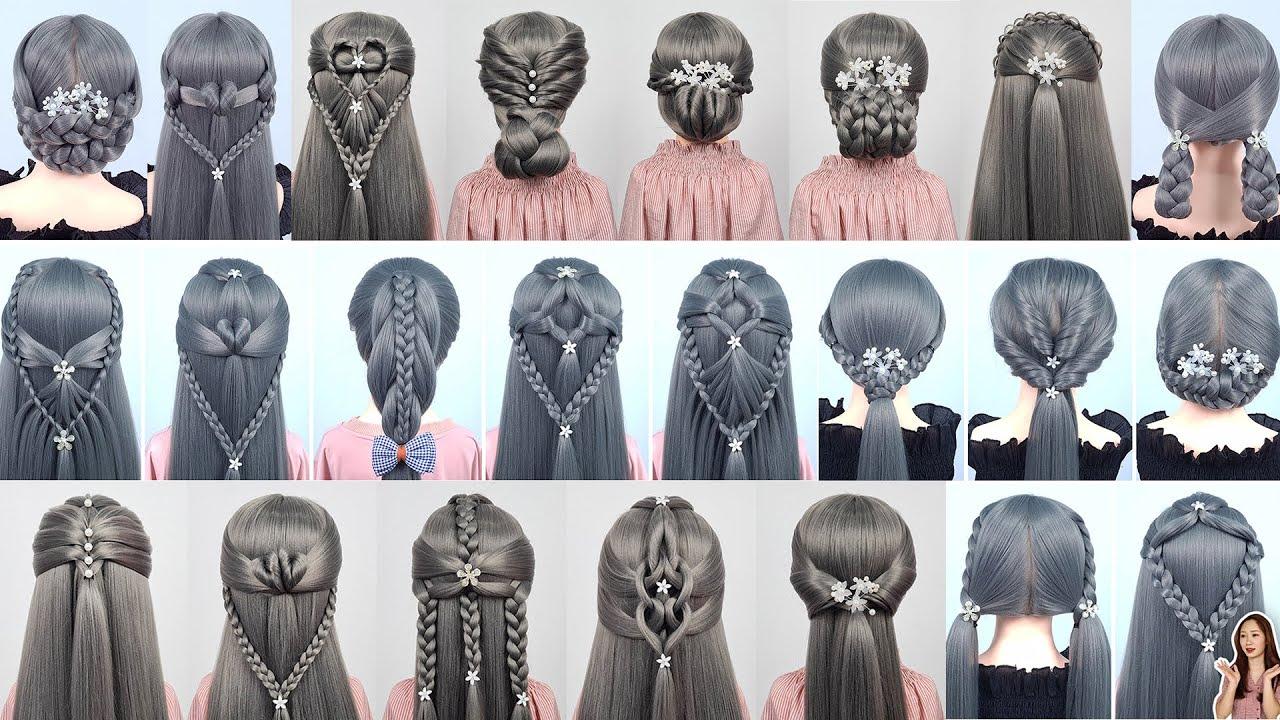 36 Cách Tết Tóc Đơn Giản Tuyệt Đẹp Đi Học Đi Chơi | Các kiểu tóc đẹp cho bạn gái #53