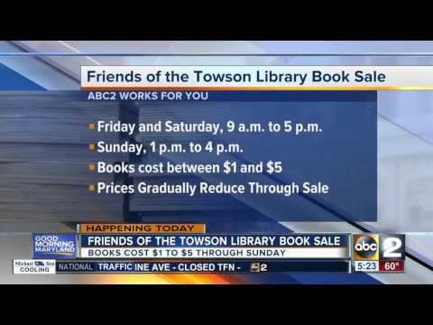 Baltimore County Public Library hosts book sale