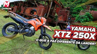 XTZ 250X NÃO É LANDER X!   Guia De Motos Motonline