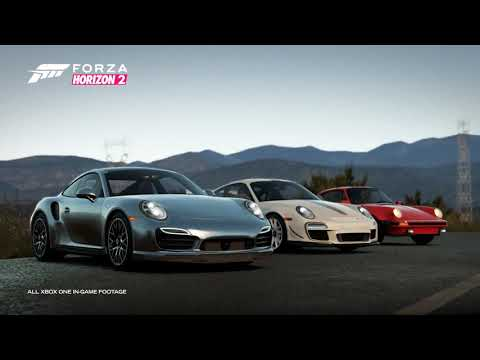 Автомобили компании Porsche прибудут в мир Forza Horizon 2 с очередным дополнением