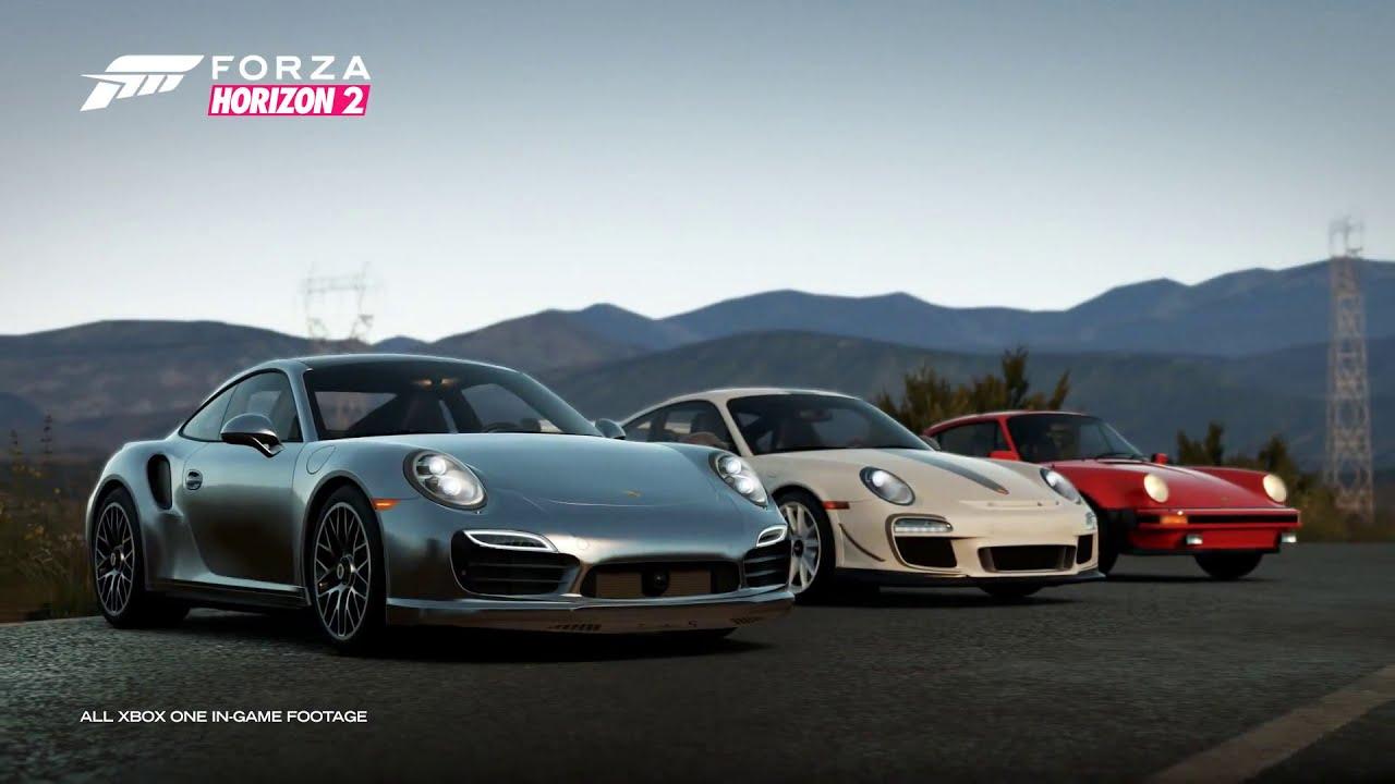 Forza Horizon 2 Porsche Expansion Trailer Youtube
