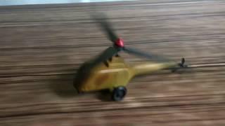 Заводна механічна іграшка -Вертоліт.СРСР.Рідкість.