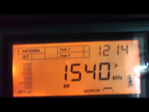 1540 kHz MW -Pres.- Radio Bahamas ,Nassau / Paradise Island, Bahamas