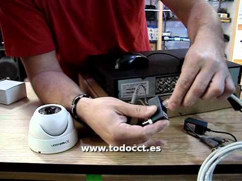 Instalacion de un Sistema de Videovigilancia CCTV con D
