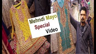 Latest Dresses Collection | Mayo Dresses | Mehndi Dresses Special Video