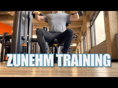 Zunehm Training | GYM Hardgainer | Muskeln zu dünn