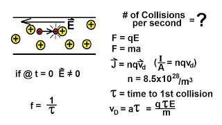 Physics - E&M: Resistivity and Resistance (21 of 33) # of Collision per Second = ?