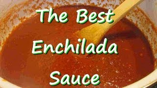 The Best Homemade Mexican Enchilada Sauce ~ Easy Enchilada Sauce Recipe