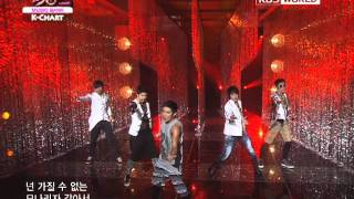 [Music Bank K-Chart] MBLAQ - Mona Lisa (2011.07.15)