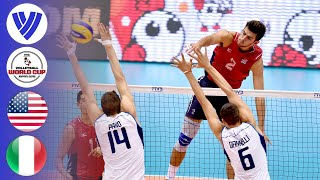 USA vs. Italy - Full Match | Men's Volleyball World Cup 2015
