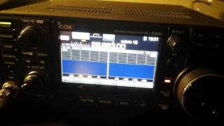 transmitting sstv images via ham radio deluxe icom ic 7300