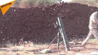 شاهد...ماذا فعل سلاح الجيش السوري بالإرهابيين غربي حلب