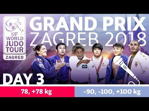 Judo Grand-Prix Zagreb 2018: Day 3