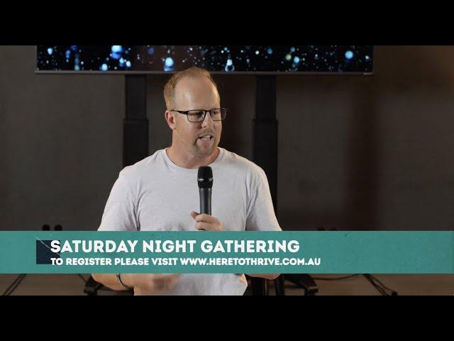 Thrive Church Online | 23rd January | Brad Hagan